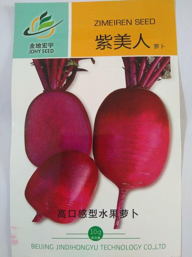 紫丹萝卜种子